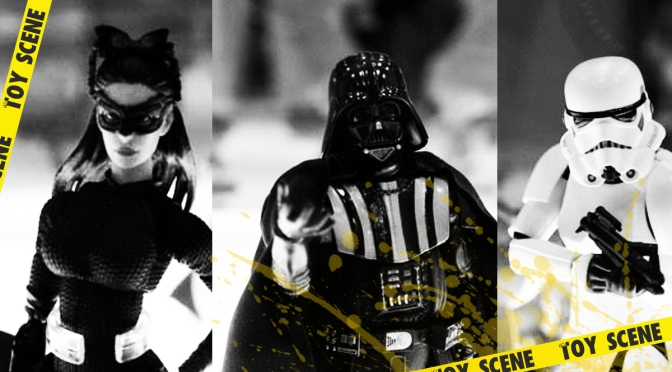 Mafex Stormtrooper, Darth Vader y Selina Kyle Wonder Festival 2014