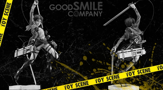 GOOD SMILE ATTACK ON TITAN EREN YEAGER 1/8 FIGURE