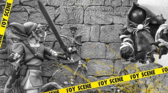 TALLER DE THE TOY SCENE: CEMENTERIO HYRULE – STALFOS – POE