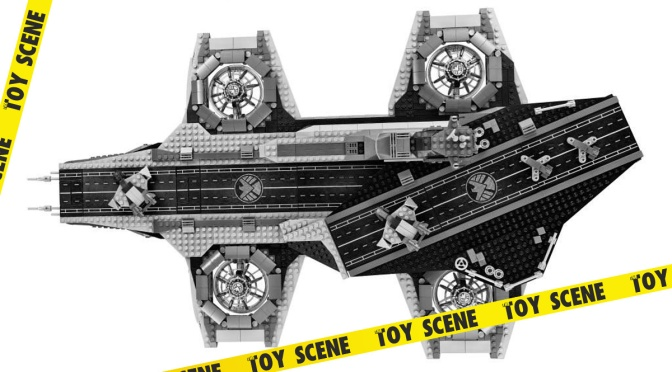 Lego Marvel Super Heroes UCS Shield Hellcarrier