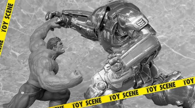 Kotobukiya The Avengers Age of Ultron Hulk y Hulkbuster ARTFX+