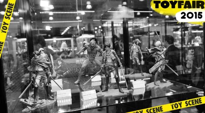 Stand de Bluefin: Sentinel, Studio Ghibly y Tamashii Buddies ToyFair 2015