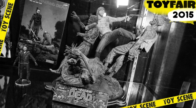 TOY FAIR 2015 MC FARLANE TOYS THE WALKING DEAD