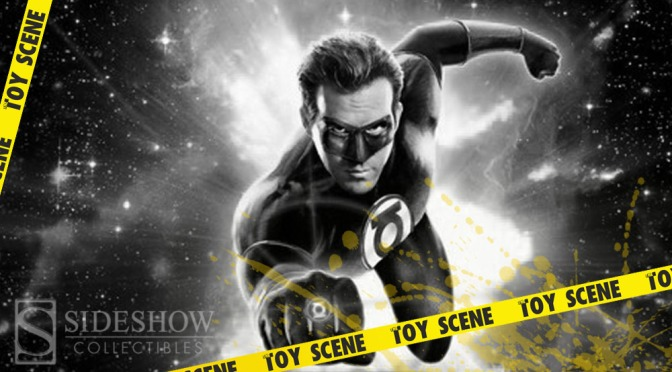 SIDESHOW GREEN LANTERN SIXTH SCALE FIGURE PREVIEW