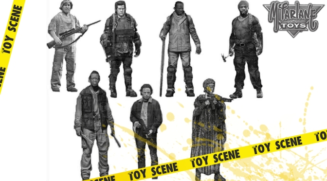 MCFARLANE TOYS THE WALKING DEAD FIGURES