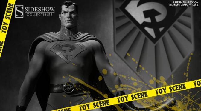 SIDESHOW PREMIUM FORMAT SUPERMAN RED SON