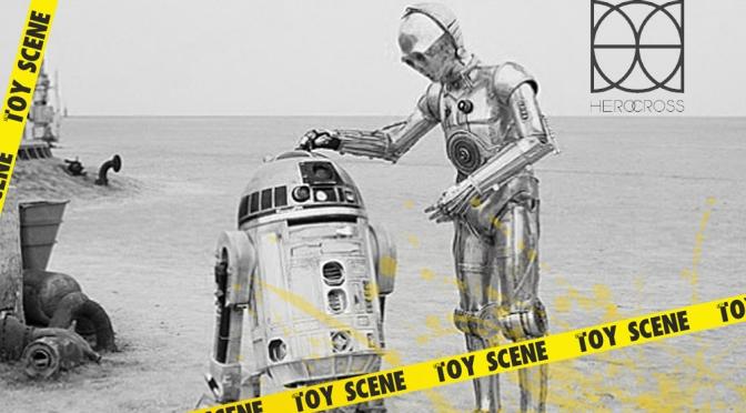 HEROCROSS STAR WARS RD-D2 & C-3PO