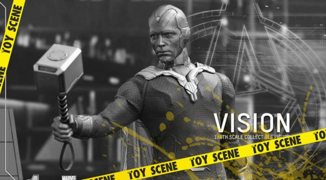 HOT TOYS LOS VENGADORES: AGE OF ULTRON VISION 1/6