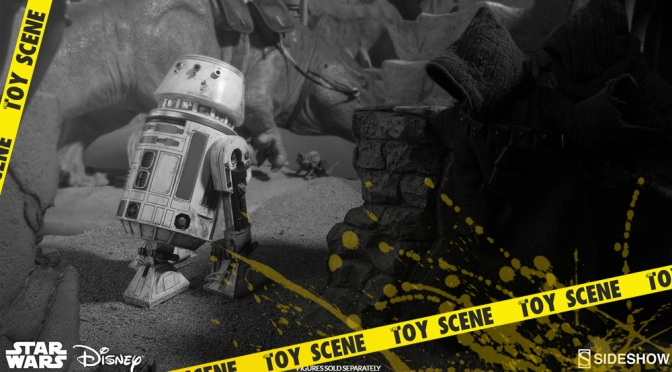 STAR WARS SIDESHOW R2-D4 1/6 FIGURE