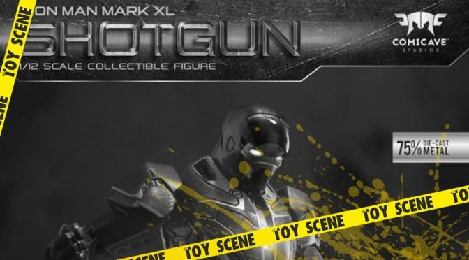COMICAVE STUDIOS IRON MAN MARK XL SHOTGUN ARMOR 1/12