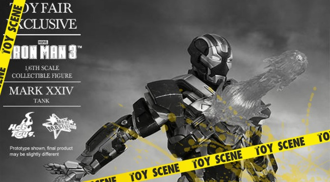 HOT TOYS IRON MAN MARK XXIV THE TANK (ACTUALIZACIÓN)